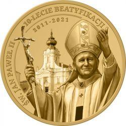 3 Denarius St. John Paul...