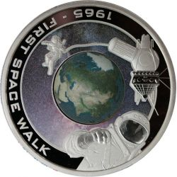 1$ First Space Walk - Orbit...