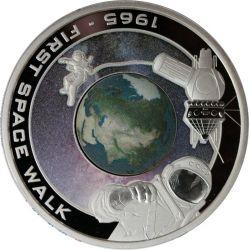 1$ First Space Walk - Orbit...