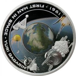 1$ Yuri Gagarin, First Man...
