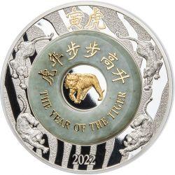 2000 Kip Rok Tygrysa Jadeit
