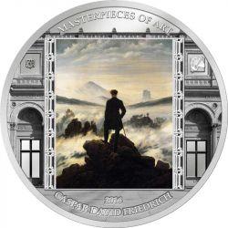 20$ Wędrowiec nad Morzem Mgły, Friedrich - Masterpieces of Art