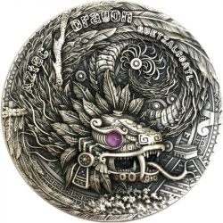2$ Aztec Dragon,...