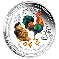 1$ Year of the Rooster Color Proof