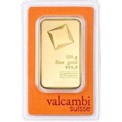 Gold Bar Valcambi 100 g