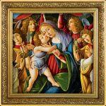 1$ Madonna and Child, Sandro Botticelli 1 oz Ag 999 2020