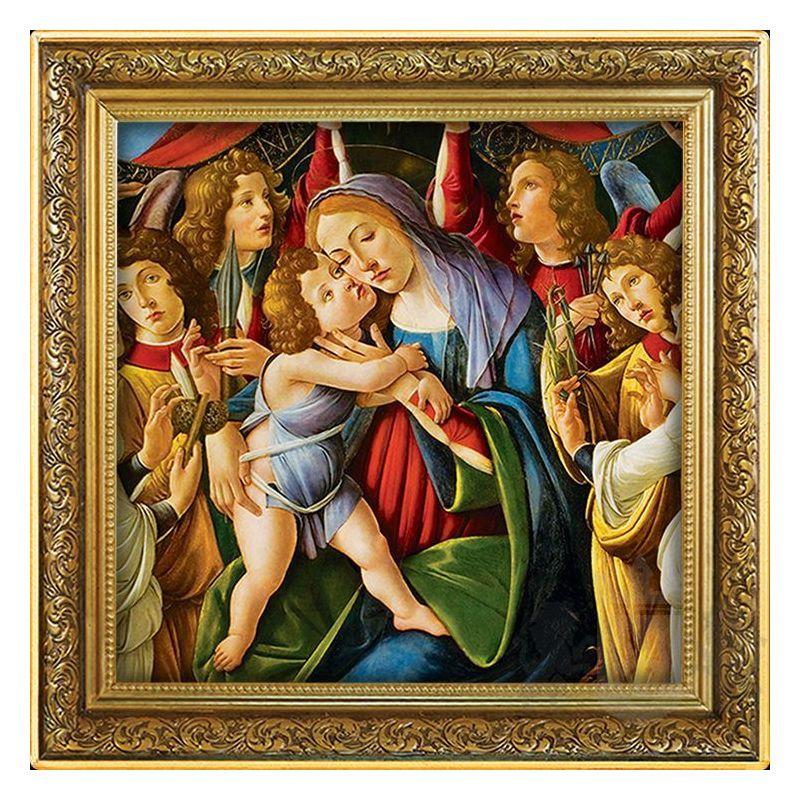 1$ Madonna z Dzieciątkiem, Sandro Botticelli 1 oz Ag 999 2020