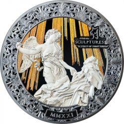 20$ Ecstasy of Saint Teresa - Eternal Sculptures 5 oz Ag 999 2021