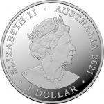 1$ Beizam The Shark - Star Dreaming 1/2 oz Ag 999 Australia