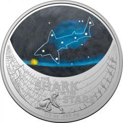 1$ Rekin - Gwiezdne Marzenia 1/2 oz Ag 999 Australia