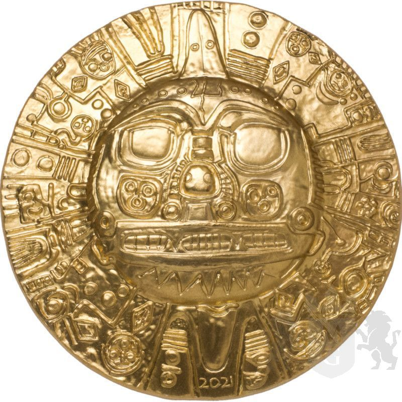 5$ Inca Sun God 1 oz Ag 999 2021