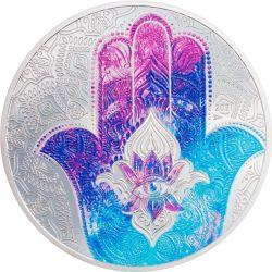 5$ Hand of Hamsa 1 oz Ag 999 2021