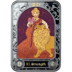 1000 Francs Strength, Tarot