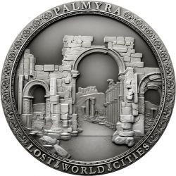 2$ Palmyra - Lost Word Cities 2 oz Ag 999 2021
