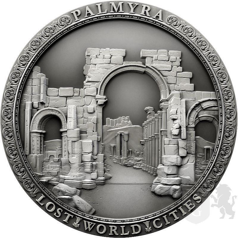 2$ Palmyra - Zaginione Miasta 2 oz Ag 999 2021