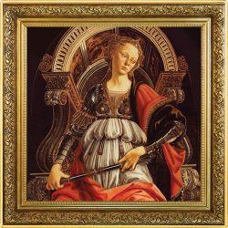 1$ Alegorie Siły, Sandro Botticelli 1 oz Ag 999 2020