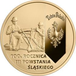 200 zł 100th Anniversary of the 3rd Silesian Uprising 15,50 g Au 900