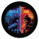 2$ Kong, Godzilla vs. Kong 1 oz Ag 999 2021