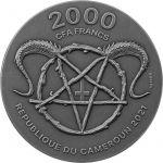 2000 Francs Belzebub 2 oz Ag 999 2021 Cameroon