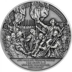 50 zł 230. rocznica Konstytucji 3 Maja, dzieła odrodzonej Rzeczypospolitej 2 oz Ag 999