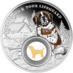 1000 Francs St. Bernard, Dogs – Man's Best Friends 28,28 g Ag 999 2021