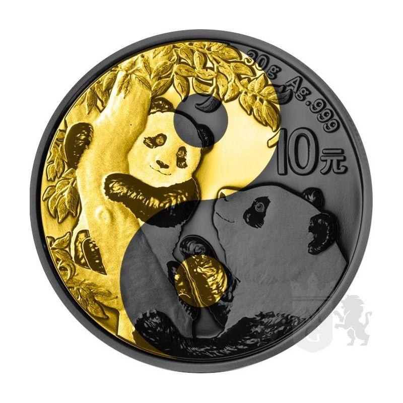 10 Yuan Panda Yin Yang 30 g Ag 999 2021