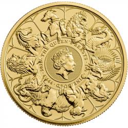 100£ Bestie Królowej 1 oz Au 999 2021 Wielka Brytania