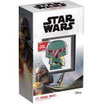 2$ Boba Fett - Star Wars, Chibi 1 oz Ag 999 2020 Niue Island