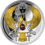 1$ Falcon of Tutankhamun 17,50 Ag 999 2021 Niue Island