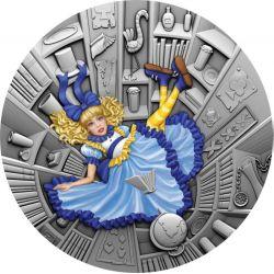 1$ Blue Fairy Tale - Fairytale 1 oz Ag 999 2021 Niue Island