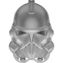 5$ Clone Trooper, Helmet - Star Wars 2 oz Ag 999 2021 Niue