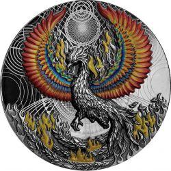 5$ Phoenix 2 oz Ag 999 2021 Niue