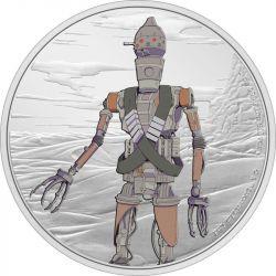 2$ IG11 - Gwiezdne Wojny, Mandalorian 1 oz Ag 999 2021 Niue
