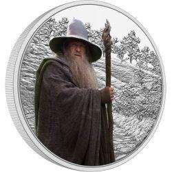 2$ Gandalf Szary - Władca Pierścieni 1 oz Ag 999 2021 Niue