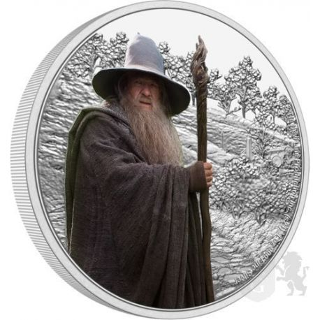 2$ Gandalf the Grey - The Lord of the Rings 1 oz Ag 999 2021 Niue