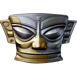 5$ Maska 30˚N - Tajemnice Świata 2 oz Ag 999 2021 Niue