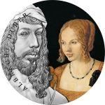 10 Cedis Albrecht Dürer - World's Greatest Artists 2 oz Ag 999 2021 Ghana
