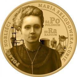 3 Denary Maria Skłodowska-Curie - Polscy Nobliści 8,9 g GN 2021