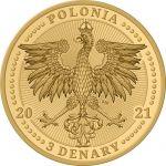 3 Denarius Maria Skłodowska-Curie - Polish Nobel Prize Winners 8,9 g GN 2021