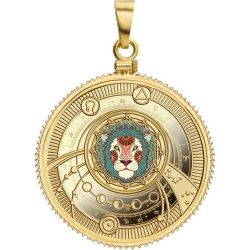 500 Francs Leo - Zodiac Signs 10 g Ag 999 2018 Cameroon