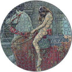 3000 Franków Lady Godiva, John Collier - So Puzzle Art 3 oz Ag 999 2020 Kamerun