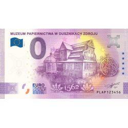 0 Euro Muzeum Papiernictwa...