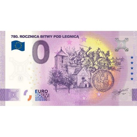 0 Euro 780th Anniversary of the Battle of Legnica