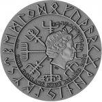 5$ Freydis Eiriksdottir - Wikingowie 2 oz Ag 999 Niue 2021