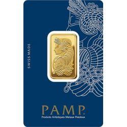 Sztabka złota PAMP 20 g Au 999