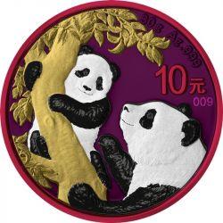 10 Yuan Panda - Space Metals II 30 g Ag 999 China