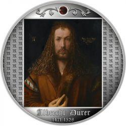 500 Franków Autoportret w futrze, 550. rocznica urodzin Albrechta Durera 17,5 g Ag 999 Kamerun