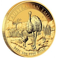 100$ Australian Emu