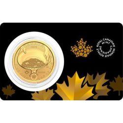 200$ Gorączka Złota, Canada Klondike 1 oz Au 999 2021
