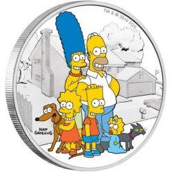 2$ The Simpson Family 2 oz Ag 999 2019 Tuvalu